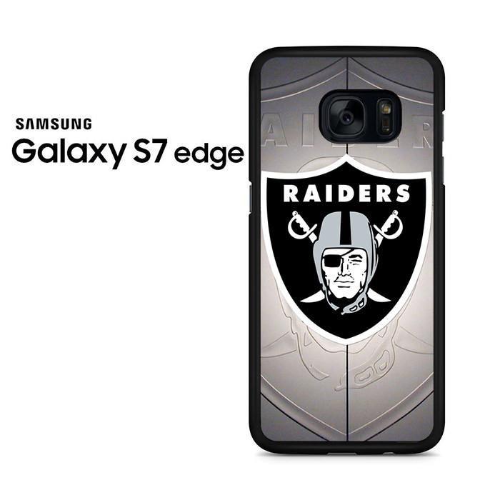 Oakland Raiders Emblem Samsung Galaxy S7 Edge Case