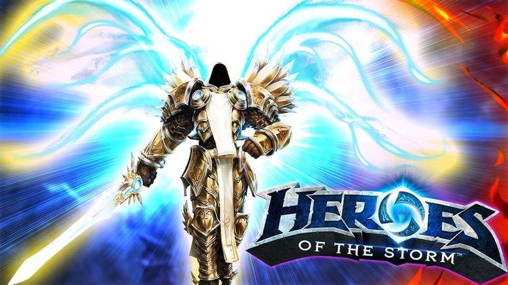 Heroes Of The Storm Тираэль осуждает Зула! - Diablo Герои шторма Геймпле...