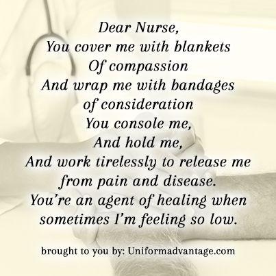 It's almost nurse's week