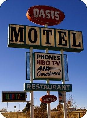 Oasis restaurant; Raton, New Mexico