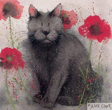 Amongst the Poppies by Alex Clark