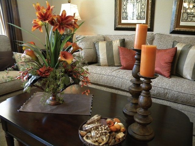 Modern Coffee Table Centerpieces Living Room Focal Point