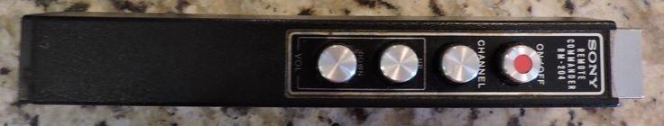 "Vintage Sony Portable 15"" Trinitron Color TV Receiver Model KV-1520R/ Working! | eBay"