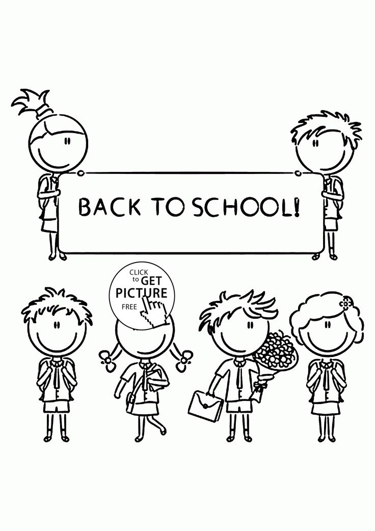 51 best School coloring pages images on Pinterest | Coloring for ...