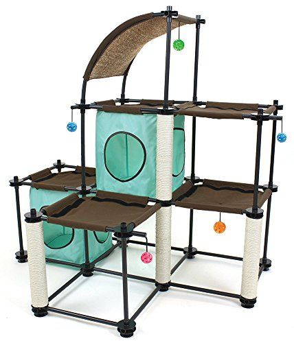 Kitty City Steel Claw Mega Kit Cat Furniture ** You can find out more details at the link of the image.(This is an Amazon affiliate link and I receive a commission for the sales)