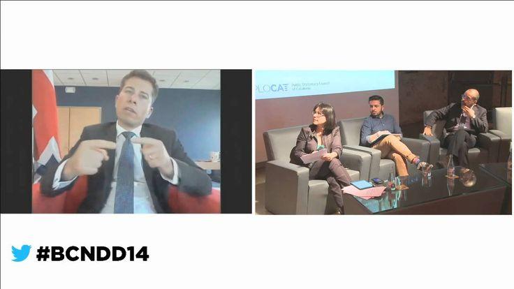 #BCNDD14 HMA Tom Fletcher + 3rd debate chaired by Teresa Turiera