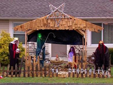 Zombie Nativity Scene Returns