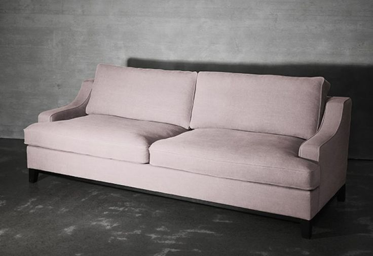 Layered's  Imperial Sofa Pink Blush. A classic and timeless design that never goes out of style. Comfortable yet refined, the Imperial Sofa is created with delicate lines. With excellent comfort combined with quality, this sofa is the epitome of modern elegance. Europe Free Shipping. See more at: http://layeredinterior.com/product/imperial-sofa-2/