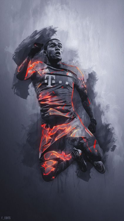 Douglas Costa.  Lock screen.