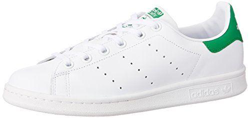 Adidas – Stan Smith Junior M20605 – Baskets mode Enfant / Fille, Blanc, 38