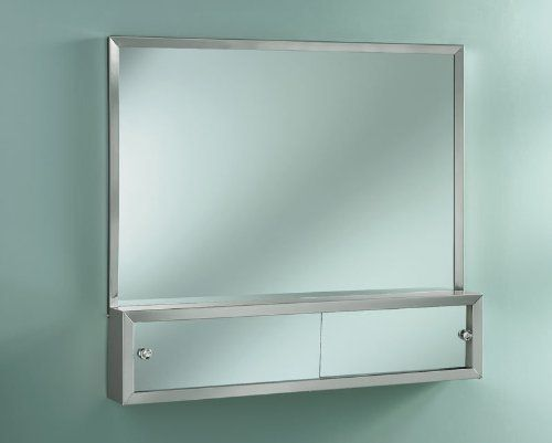 broannutone j1645p48ch commodore combination mirror medicine cabinet and cosmetic box by broan