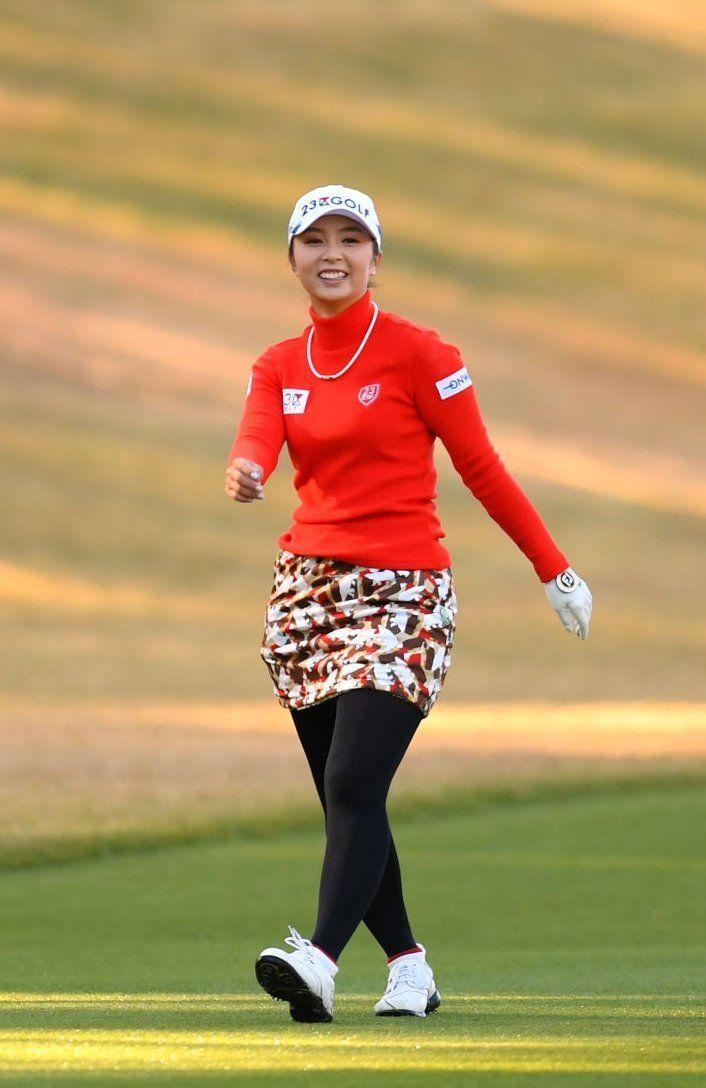 LPGA Tights — Erika Kikuchi in 2020 | Tights, Lpga, Stockings