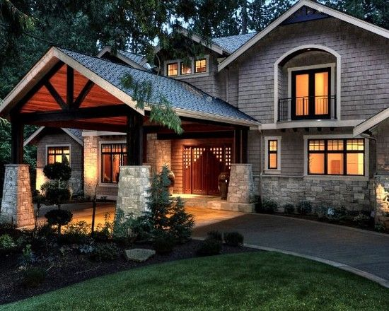 1000 images about exteriors porte cochere on pinterest for House plans with portico garage