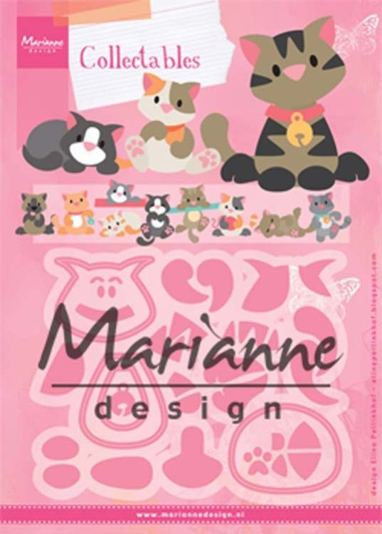 Image result for Marianne design collectables kitten