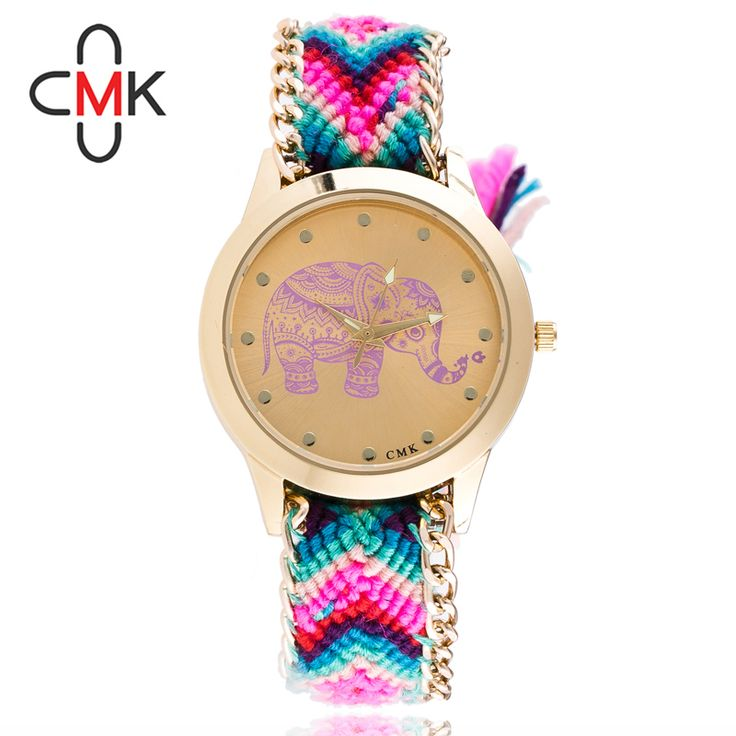 $4.95 (Buy here: https://alitems.com/g/1e8d114494ebda23ff8b16525dc3e8/?i=5&ulp=https%3A%2F%2Fwww.aliexpress.com%2Fitem%2FWomen-s-Watch-Ms-Woven-Bracelet-Watch-Exquisite-Handmade-DIY-Wool-Elephant-watches-women-fashion-watch%2F32770024994.html ) Women's Watch Ms. Woven Bracelet Watch Exquisite Handmade DIY Wool Elephant watches women fashion watch 2016 relogio masculino for just $4.95
