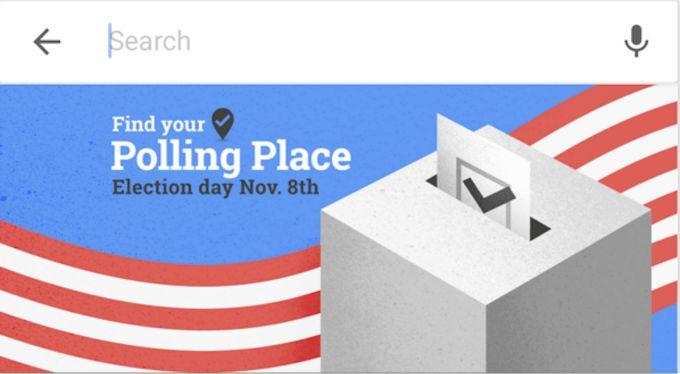 Google Maps urges users to vote with its new polling place finder - http://www.sogotechnews.com/2016/11/08/google-maps-urges-users-to-vote-with-its-new-polling-place-finder/?utm_source=Pinterest&utm_medium=autoshare&utm_campaign=SOGO+Tech+News