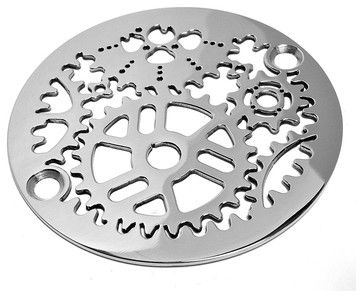 Sprockets Shower Drain, Polished Stainless Steel - contemporary - Showerheads And Body Sprays - Other Metro - Designer Drains houzz.com
