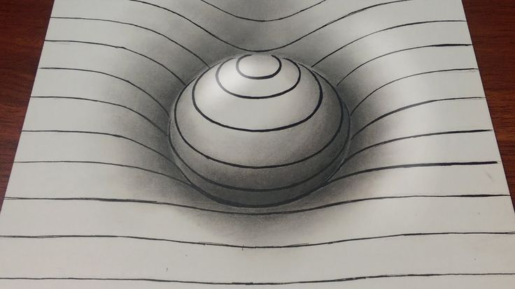 Drawing a sphere 3D with lines and some shadows. I hope you like it and please…