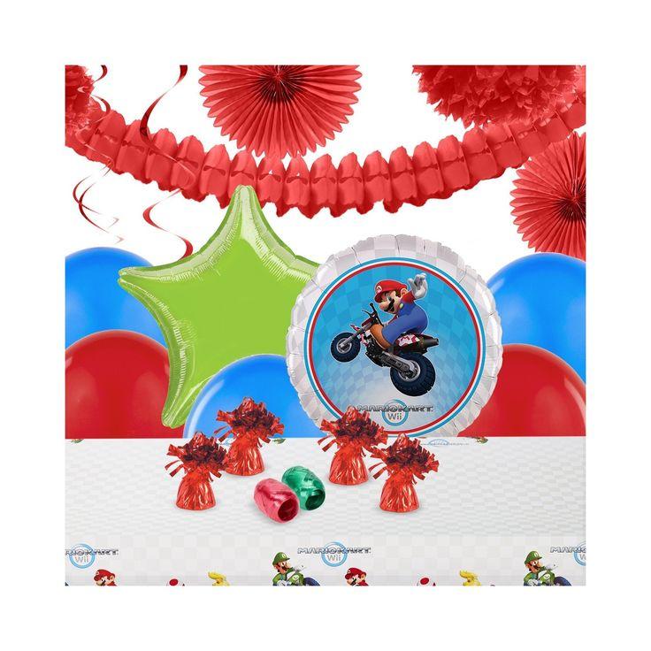 Mario Kart Wii Party Decoration Kit