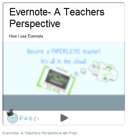 Prezi on Evernote