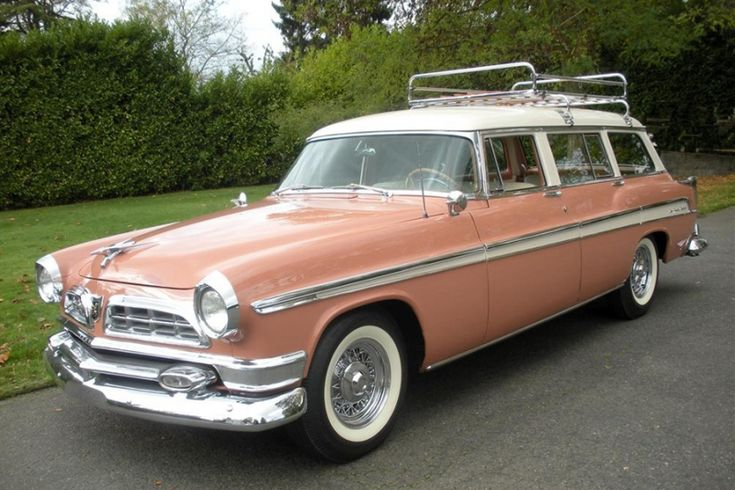 1955 chrysler station wagon | Chrysler New Yorker TownCountry wagon photos: