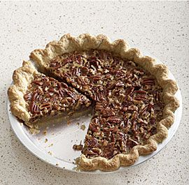 Classic Southern Pecan Pie....This is not one of those overly sugary, super-gooey pecan pies. Instead, this version strikes just the right balance—the filling is rich but not cloying, so the pecans take center stage, and the flaky, tender crust has enough salt in it to offset the sweetness of the filling.