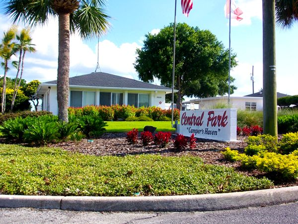 Central Park of Haines City at Haines City, Florida. My grandmother and former Mayor, Joanna Wilkinson, helped to achieve this.