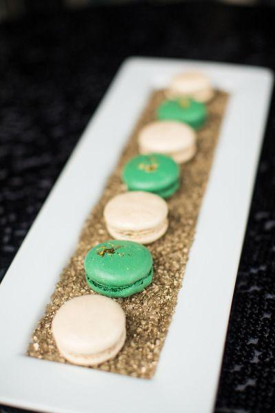Glitter + Macarons ♥