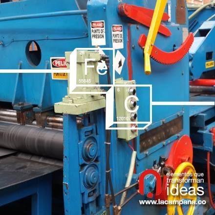 Maquinaria construida con el mejor acero. www.lacampana.co