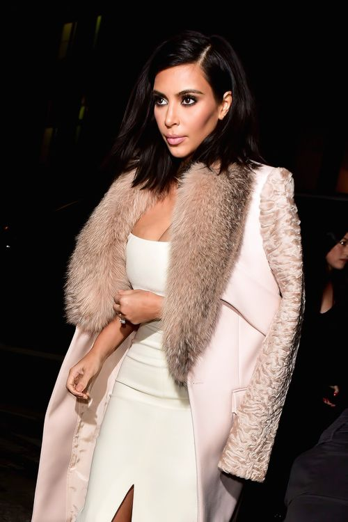 fherce: sexy and glamorous! // beauty blog xo   Kim killed this outfit!!