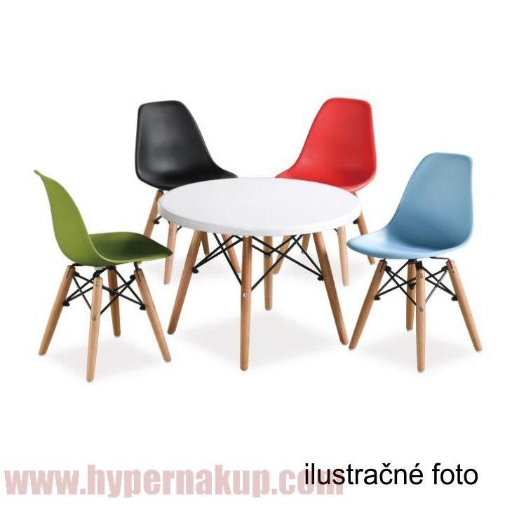 Dizajnová stolička,materiál: drevo-buk + plast PP,fareba:tm.hnedározmery (ŠxHxV): 50,5x46,5x82cm, výška sedenia: 45cm,maximálna nosnosť: 150kg.V prevedení červená len do vypredania zásob.Hmotnosť: 4.50 kgStolička, tmavohnedá + buk, Cinkla New