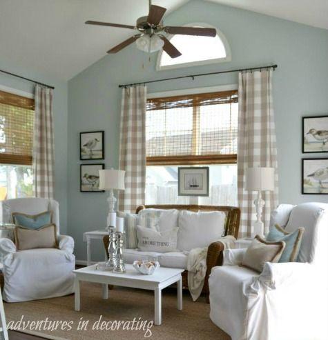 Sunroom Decor Ideas With A Relaxed Coastal Beach Vibe