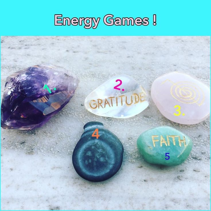 Let's see if you can guess which stone from the 5 in the image I'm going to pick ! The cards today advised me to play this game to help you harness your intuition ! So let's play .. 1. Amethyst 2. Clear Quartz 3. Rose Quartz  4. Fairy Stone  5. Green Aventurine  I'll be posting later the stone I picked ! Let the games begin !! #loveandlight @smmagic #crystals #healingstones #intuition #energy #games #psychicabilities #harnessyourintuition #fun #light #energygames #insight #trustyourintuition…