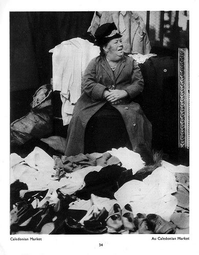"""""""Caledonian Market"""" by Bill Brandt from his book """"The English At Home"""" (1936)"""