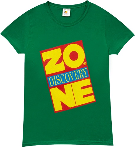 Who else had a birthday here? Discovery Zone Shirt by 80sTees ($20)