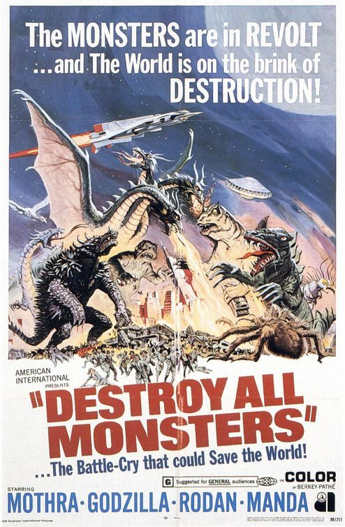 Destroy All Monsters (1969)