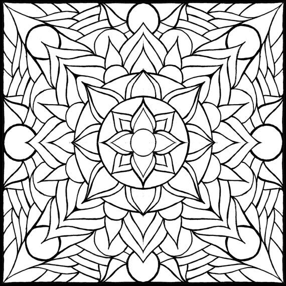 coloring pages layers by brokencrayonworks on etsy