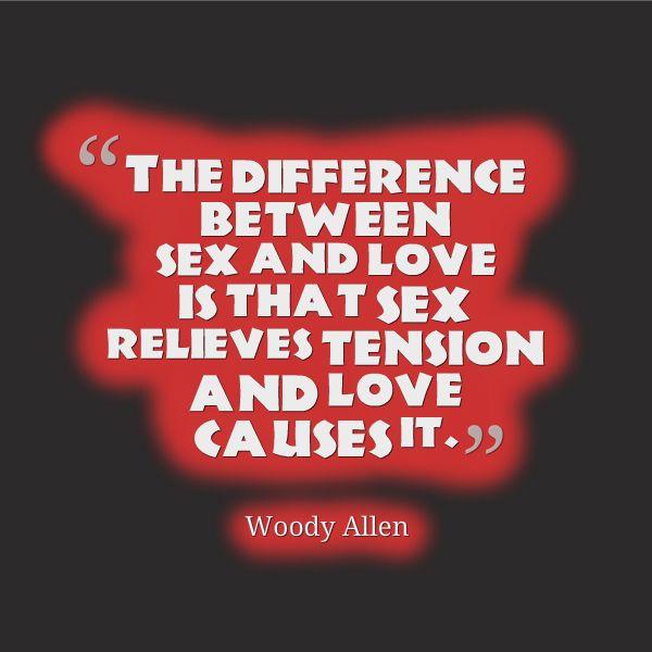 woody allen sex quotes