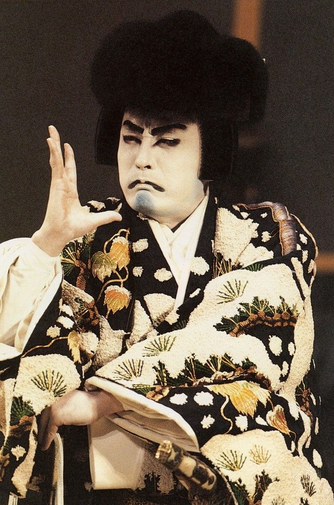 Kabuki actor - Japan