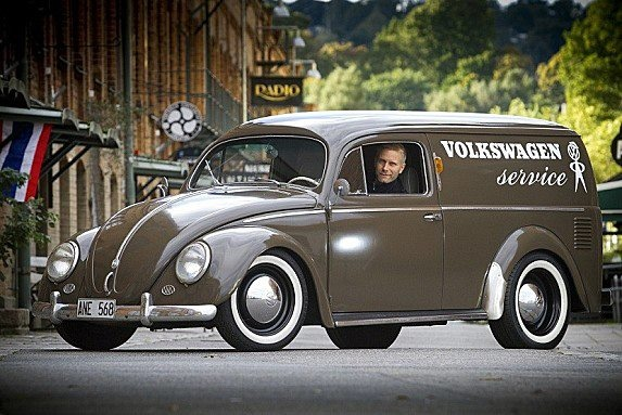VW Panel Truck....Re-Pin Brought to you by agents at #HouseofInsurance in #EugeneOregon for #LowCostInsurance.