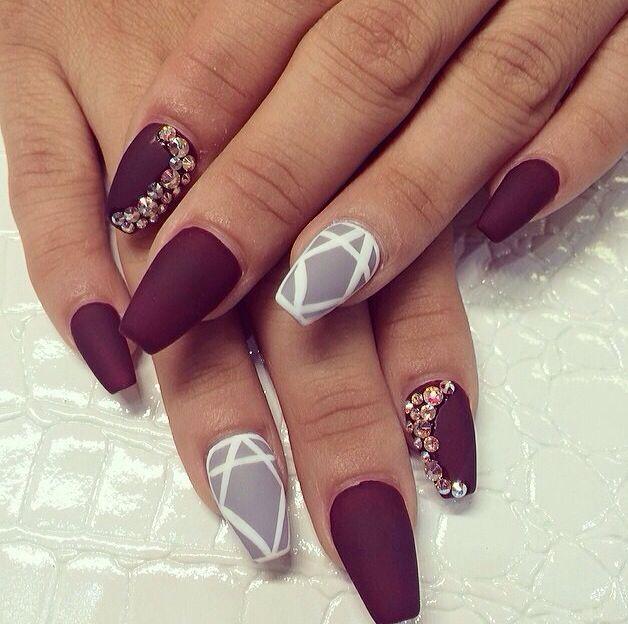 Bekannt Les 25 meilleures idées de la catégorie Fashion nail art sur  XN27
