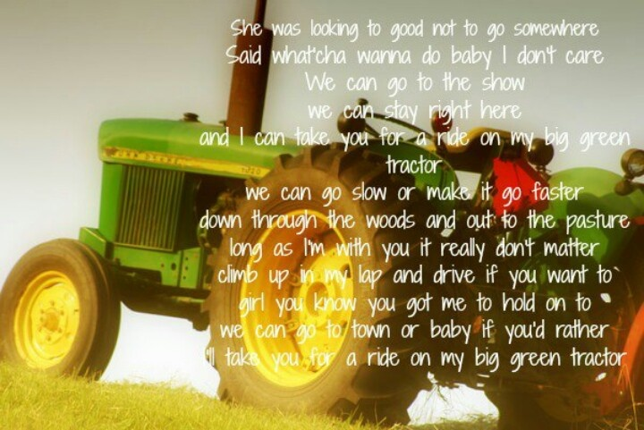 Green Tractors Of Quotes. QuotesGram