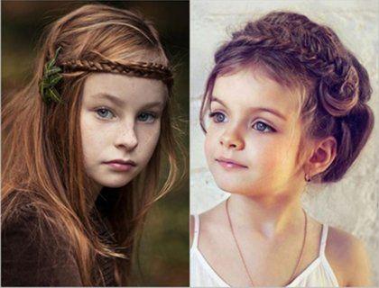Модные детские прически для девочек – фото: на короткие и длинные волосы
