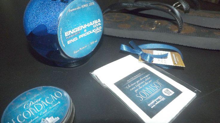Personalização da Colação de Grau, Missa de Ação de Graças e Baile - Turma Engenharia Civil e Produção 2013 - FUMEC