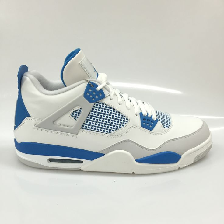 "Air Jordan 4 ""Military Blue"" Size 15 DS"