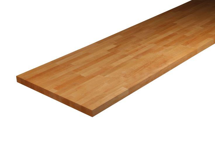 B&Q Solid Wood Kitchen Worktop (L)3m | Departments | DIY at B&Q