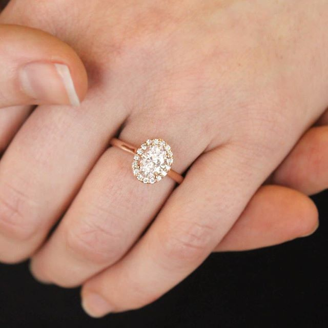 173 best Brilliant Earth Halo Ring Collection images on Pinterest