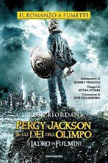 Titolo: Percy Jackson e gli dei dell'Olimpo. Il ladro di fulmini Autore: Rick Riordan Editore: Mondadori Serie: #1 Percy Jackson e gli Dei dell'Olimpo (ed. fumetto) Genere: Fantasy Pagine: 128 pp Data: 30 giugno 2015 Prezzo: 14€