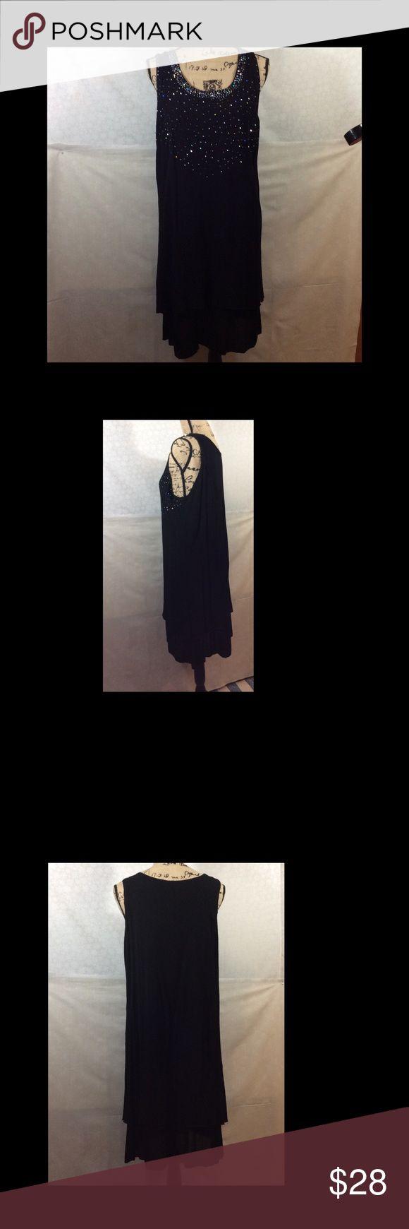 Raya Sun Dress Light fabric similar to gauze with sewn on