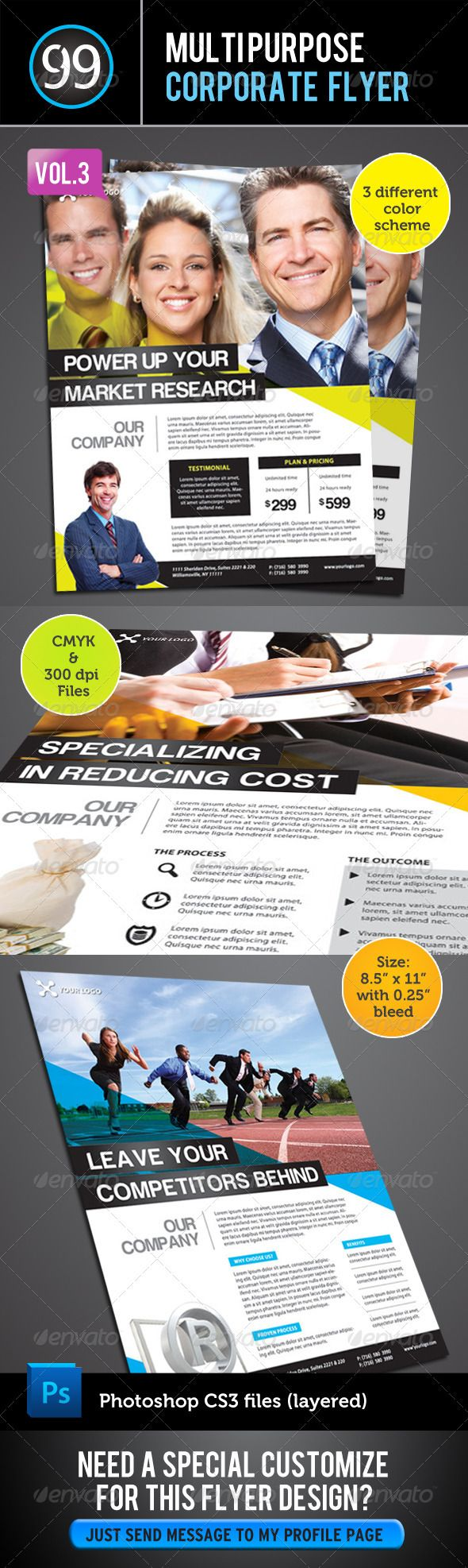 free business flyers to print